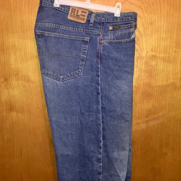 23526dbf0 Ralph Lauren Polo Denim Jeans Vintage 34W   30L. M 5c6dbec0c89e1d149adeb898